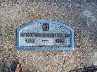 MOORE, AMOS - Crawford County, Arkansas | AMOS MOORE - Arkansas Gravestone Photos