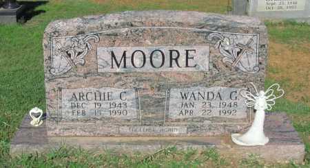 MOORE, WANDA G - Crawford County, Arkansas | WANDA G MOORE - Arkansas Gravestone Photos