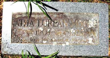 MOORE, ATHA LUREAN - Crawford County, Arkansas | ATHA LUREAN MOORE - Arkansas Gravestone Photos