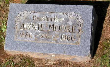 MOORE, ANNIE - Crawford County, Arkansas   ANNIE MOORE - Arkansas Gravestone Photos