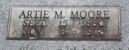 MOORE, ARTIE M. - Crawford County, Arkansas   ARTIE M. MOORE - Arkansas Gravestone Photos