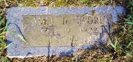 MOORE, AMEL D - Crawford County, Arkansas   AMEL D MOORE - Arkansas Gravestone Photos
