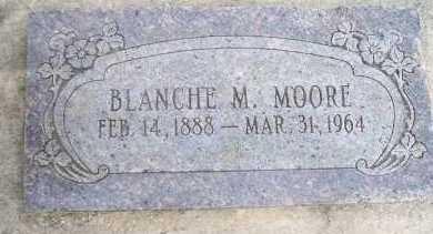 MOORE, BLANCHE M - Crawford County, Arkansas | BLANCHE M MOORE - Arkansas Gravestone Photos