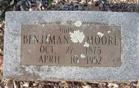 MOORE, BENJIMAN S - Crawford County, Arkansas   BENJIMAN S MOORE - Arkansas Gravestone Photos