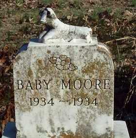 MOORE, BABY - Crawford County, Arkansas | BABY MOORE - Arkansas Gravestone Photos