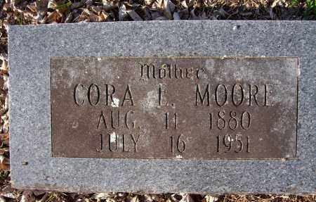 MOORE, CORA L - Crawford County, Arkansas | CORA L MOORE - Arkansas Gravestone Photos