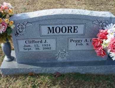 MOORE, CLIFFORD J - Crawford County, Arkansas   CLIFFORD J MOORE - Arkansas Gravestone Photos