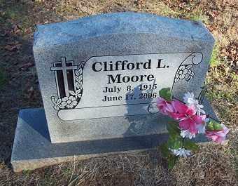 MOORE, CLIFFORD L - Crawford County, Arkansas | CLIFFORD L MOORE - Arkansas Gravestone Photos