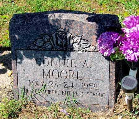MOORE, CONNIE A - Crawford County, Arkansas | CONNIE A MOORE - Arkansas Gravestone Photos