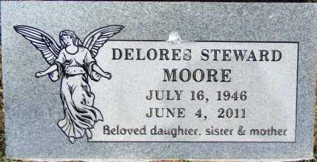 MOORE, DELORES - Crawford County, Arkansas | DELORES MOORE - Arkansas Gravestone Photos