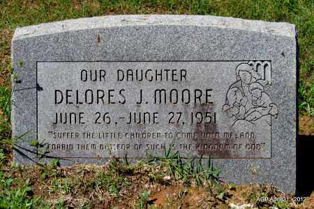 MOORE, DELORES J - Crawford County, Arkansas   DELORES J MOORE - Arkansas Gravestone Photos