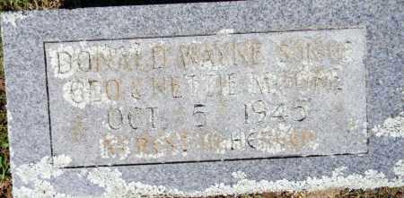 MOORE, DONALD WAYNE - Crawford County, Arkansas   DONALD WAYNE MOORE - Arkansas Gravestone Photos