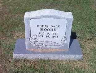 MOORE, EDDIE DALE - Crawford County, Arkansas   EDDIE DALE MOORE - Arkansas Gravestone Photos