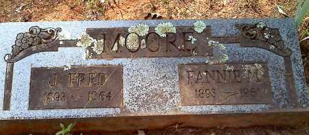 MOORE, J FRED - Crawford County, Arkansas | J FRED MOORE - Arkansas Gravestone Photos