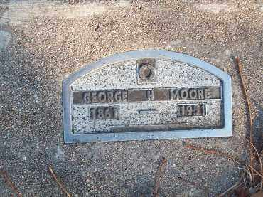 MOORE, GEORGE H - Crawford County, Arkansas | GEORGE H MOORE - Arkansas Gravestone Photos