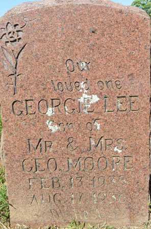 MOORE, GEORGE LEE - Crawford County, Arkansas | GEORGE LEE MOORE - Arkansas Gravestone Photos