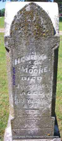 MOORE, HENRY - Crawford County, Arkansas | HENRY MOORE - Arkansas Gravestone Photos