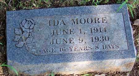 MOORE, IDA - Crawford County, Arkansas | IDA MOORE - Arkansas Gravestone Photos