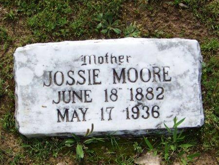 MOORE, JOSSIE - Crawford County, Arkansas | JOSSIE MOORE - Arkansas Gravestone Photos