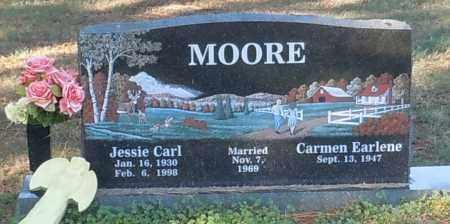 MOORE, JESSIE CARL - Crawford County, Arkansas   JESSIE CARL MOORE - Arkansas Gravestone Photos