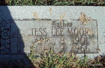 MOORE, JESS LEE (ORIGINAL STONE) - Crawford County, Arkansas   JESS LEE (ORIGINAL STONE) MOORE - Arkansas Gravestone Photos
