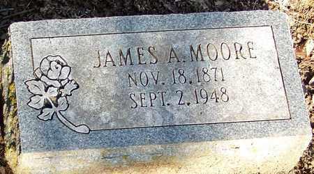MOORE, JAMES A - Crawford County, Arkansas   JAMES A MOORE - Arkansas Gravestone Photos