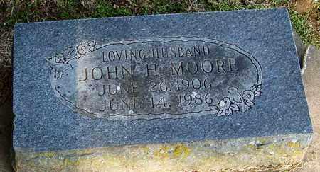 MOORE, JOHN H - Crawford County, Arkansas   JOHN H MOORE - Arkansas Gravestone Photos