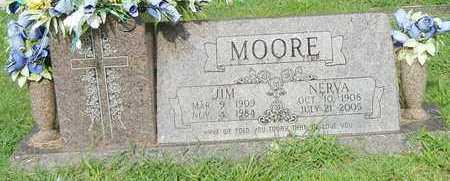 MOORE, JIM - Crawford County, Arkansas | JIM MOORE - Arkansas Gravestone Photos