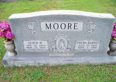MOORE, PHEBA - Crawford County, Arkansas | PHEBA MOORE - Arkansas Gravestone Photos