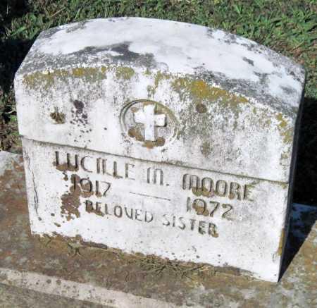 MOORE, LUCILLE M - Crawford County, Arkansas   LUCILLE M MOORE - Arkansas Gravestone Photos