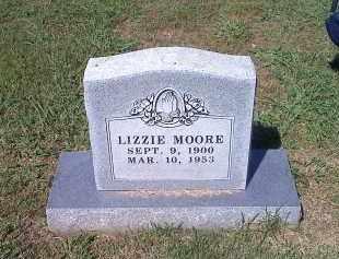 MOORE, LIZZIE - Crawford County, Arkansas   LIZZIE MOORE - Arkansas Gravestone Photos