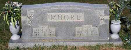 MOORE, LESTER L. - Crawford County, Arkansas | LESTER L. MOORE - Arkansas Gravestone Photos