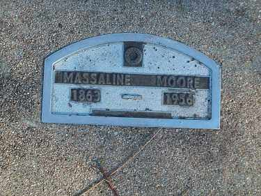MOORE, MASSALINE - Crawford County, Arkansas   MASSALINE MOORE - Arkansas Gravestone Photos