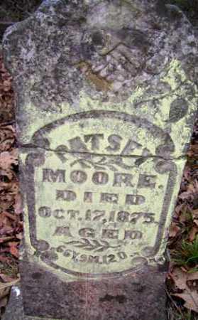 MOORE, MARTHA PATSEY - Crawford County, Arkansas   MARTHA PATSEY MOORE - Arkansas Gravestone Photos