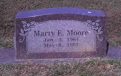 MOORE, MARTY E - Crawford County, Arkansas | MARTY E MOORE - Arkansas Gravestone Photos