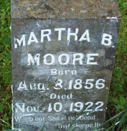 MOORE, MARTHA B - Crawford County, Arkansas | MARTHA B MOORE - Arkansas Gravestone Photos