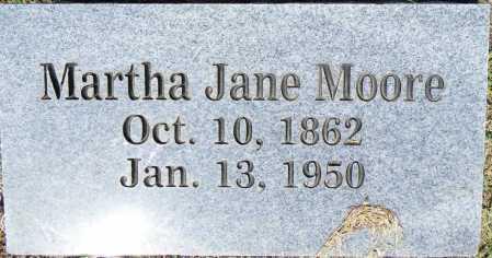 MOORE, MARTHA JANE - Crawford County, Arkansas | MARTHA JANE MOORE - Arkansas Gravestone Photos
