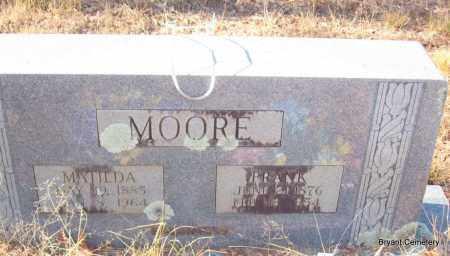 MOORE, FRANK - Crawford County, Arkansas | FRANK MOORE - Arkansas Gravestone Photos