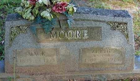 MOORE, MACK - Crawford County, Arkansas   MACK MOORE - Arkansas Gravestone Photos