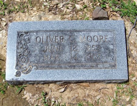 MOORE, OLIVER C - Crawford County, Arkansas | OLIVER C MOORE - Arkansas Gravestone Photos