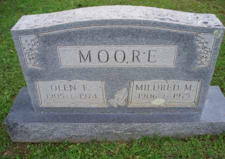 MOORE, MILDRED M - Crawford County, Arkansas   MILDRED M MOORE - Arkansas Gravestone Photos
