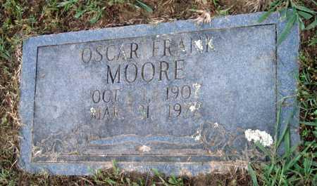 MOORE, OSCAR FRANK - Crawford County, Arkansas   OSCAR FRANK MOORE - Arkansas Gravestone Photos