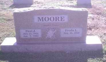 MOORE, PAUL J - Crawford County, Arkansas   PAUL J MOORE - Arkansas Gravestone Photos