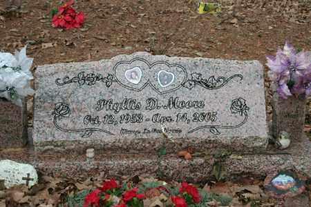 MOORE, PHYLLIS - Crawford County, Arkansas | PHYLLIS MOORE - Arkansas Gravestone Photos