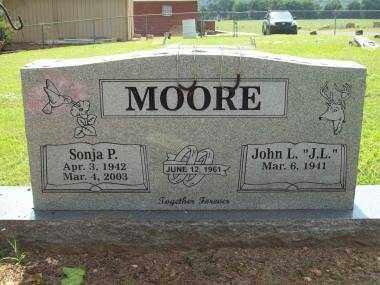 MOORE, SONJA P - Crawford County, Arkansas | SONJA P MOORE - Arkansas Gravestone Photos