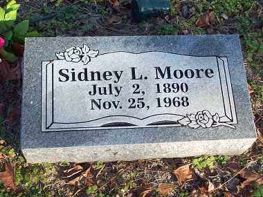 MOORE, SIDNEY L - Crawford County, Arkansas | SIDNEY L MOORE - Arkansas Gravestone Photos