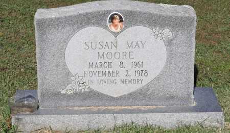 MOORE, SUSAN MAY - Crawford County, Arkansas   SUSAN MAY MOORE - Arkansas Gravestone Photos