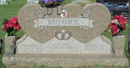MOORE, TRUMAN V - Crawford County, Arkansas   TRUMAN V MOORE - Arkansas Gravestone Photos