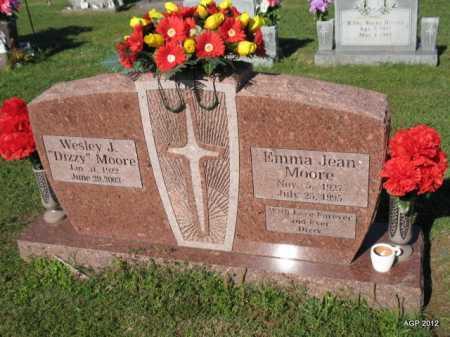 MOORE, EMMA JEAN - Crawford County, Arkansas | EMMA JEAN MOORE - Arkansas Gravestone Photos