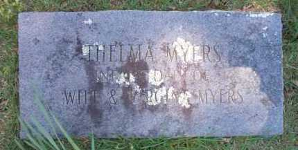 MYERS, THELMA - Crawford County, Arkansas   THELMA MYERS - Arkansas Gravestone Photos